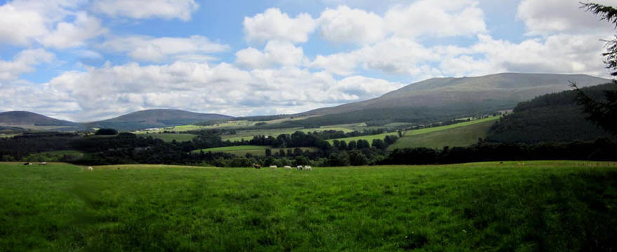 View of Ben Rinnes from Tombreck Farm